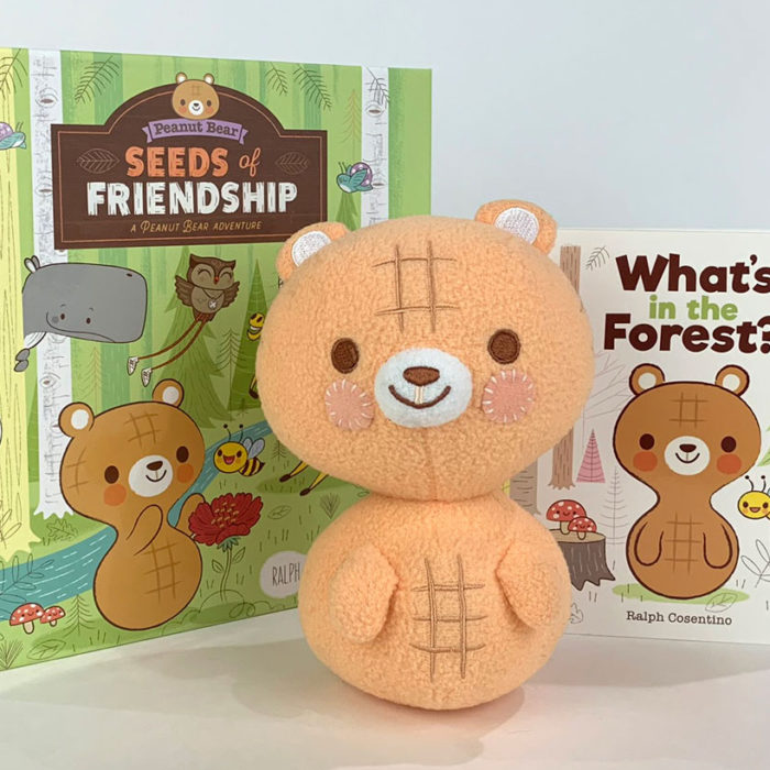 Peanut Bear Book & Plush