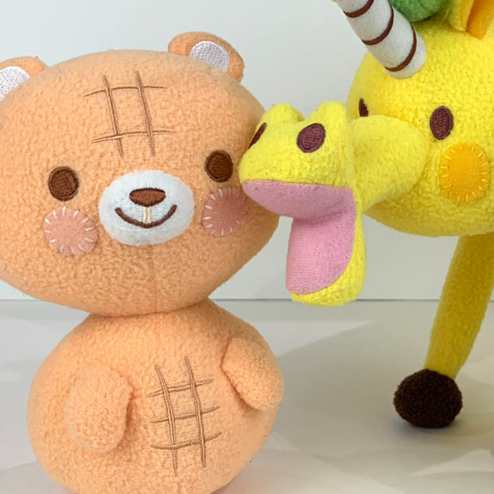 Peanut Bear & Friends Plush